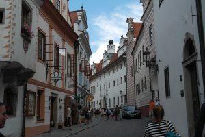 Cesky Krumlov straat