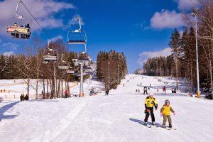 Ski piste Lipno